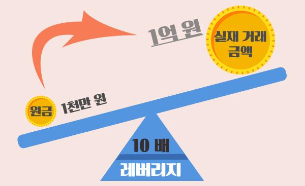 FX마진 거래 레버리지로 자기자본 증식효과
