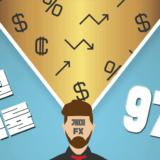 【FX마진 무료리딩】 지난 달 수익률 97%… 숫자의 함정이란?