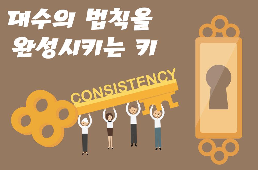 성공투자-대수의 법칙-일관성-확률-비법