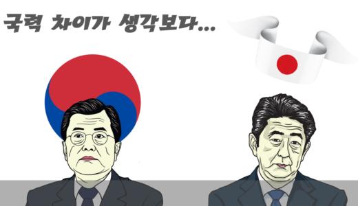 일본과 한국의 국력 비교, 피해자는 과연 누구인가?