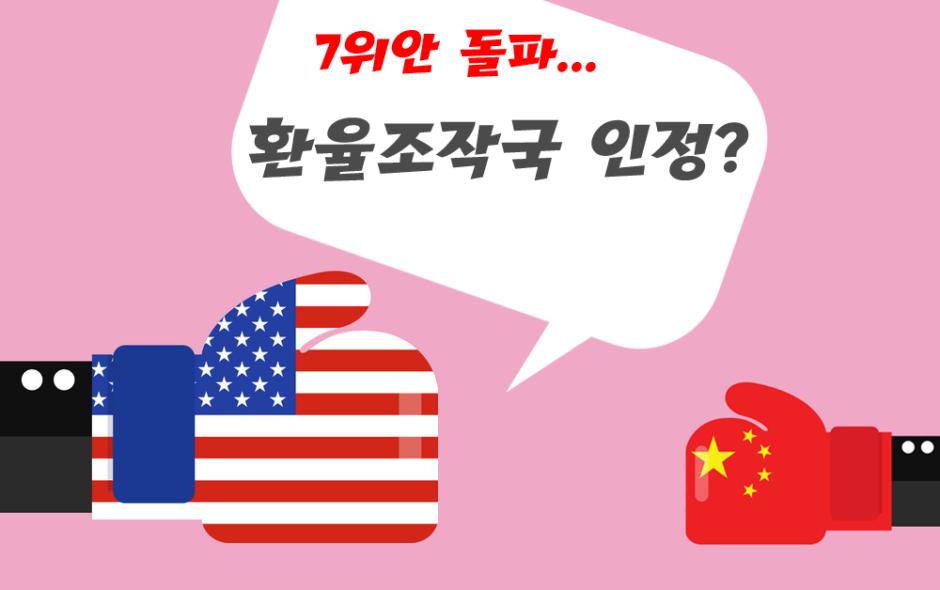 환율-조작국-중국-미국-무역