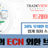 ECN 브로커의 종결자! 트레이드뷰 (Tradeview) 이용후기 리뷰