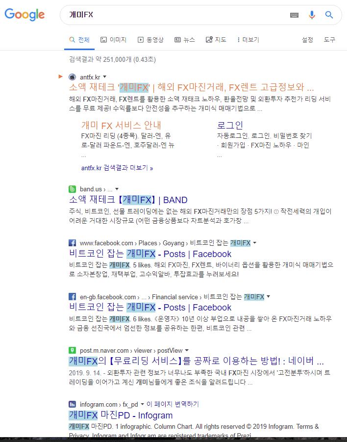 개미FX-인기-평판