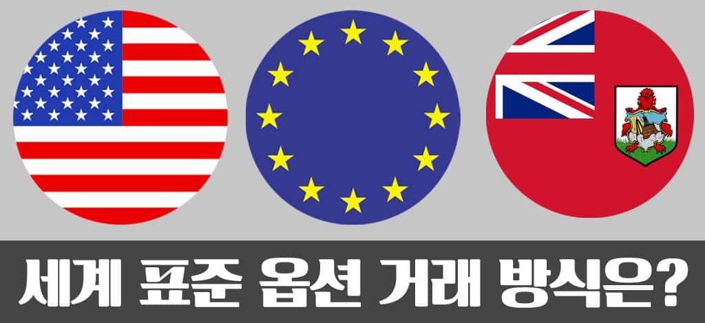 옵션거래-종류-미국식-유럽식-버뮤다식-유러피안-아메리칸