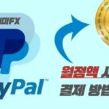 [개미FX] 월정액 유료서비스 정기결제 방법 (페이팔)