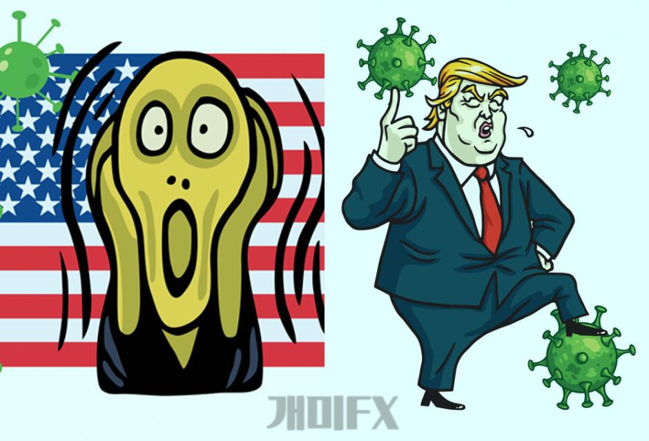 트럼프-코로나상태