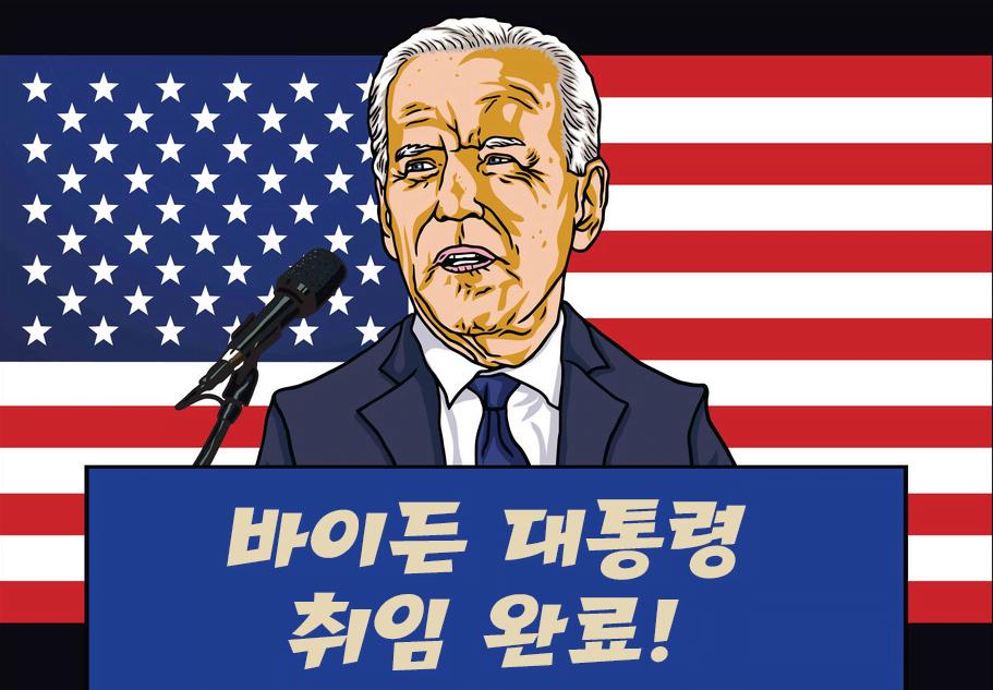 달러전망-바이든대통령-취임식