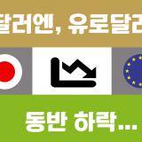 [환율전망] 유달, 달엔이 동반 하락하는 이유