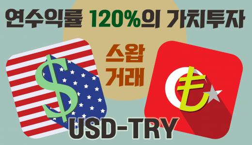 스와프 트레이딩의 묘미, '터키 리라화' 장기 투자로 연간 수익률 150%!