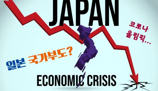 [도쿄 코로나 올림픽] 일본 '국가부도'의 가능성과 달러-엔화의 향방은?